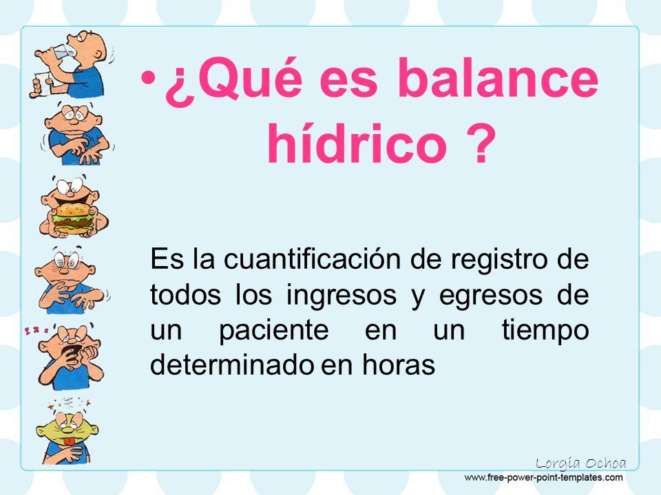 ¿Qué es balance hídrico