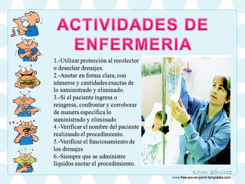 ACTIVIDADES DE ENFERMERIA