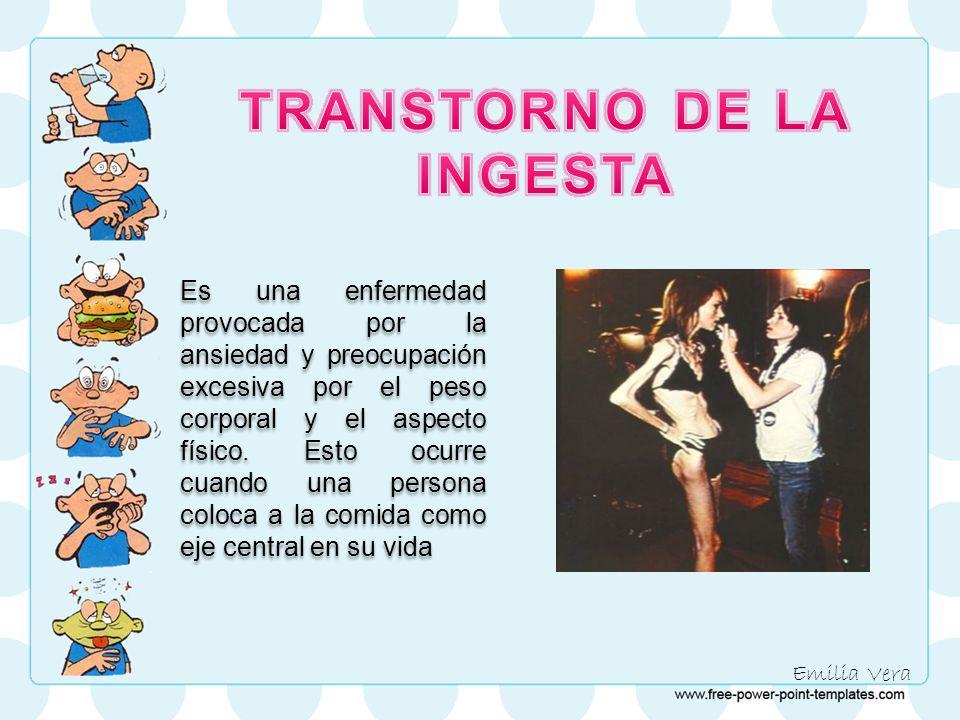 TRANSTORNO DE LA INGESTA