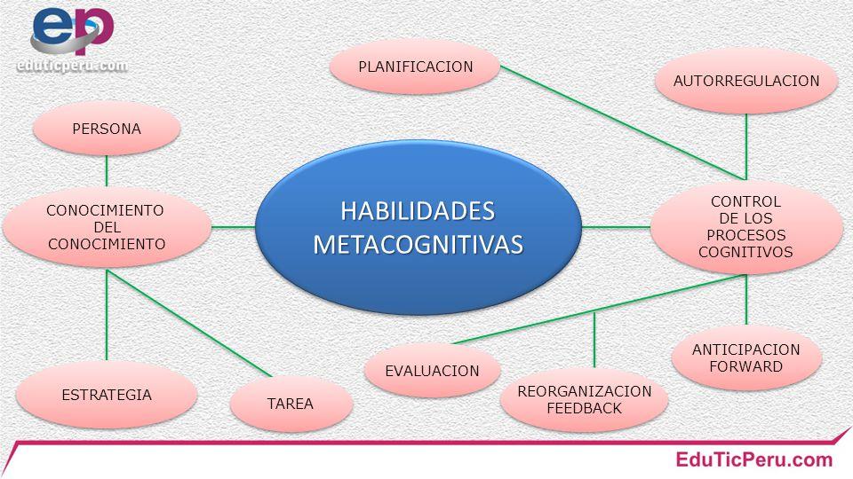 HABILIDADES METACOGNITIVAS
