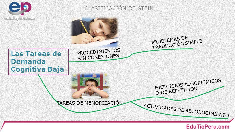 TAREAS DE MEMORIZACIÓN