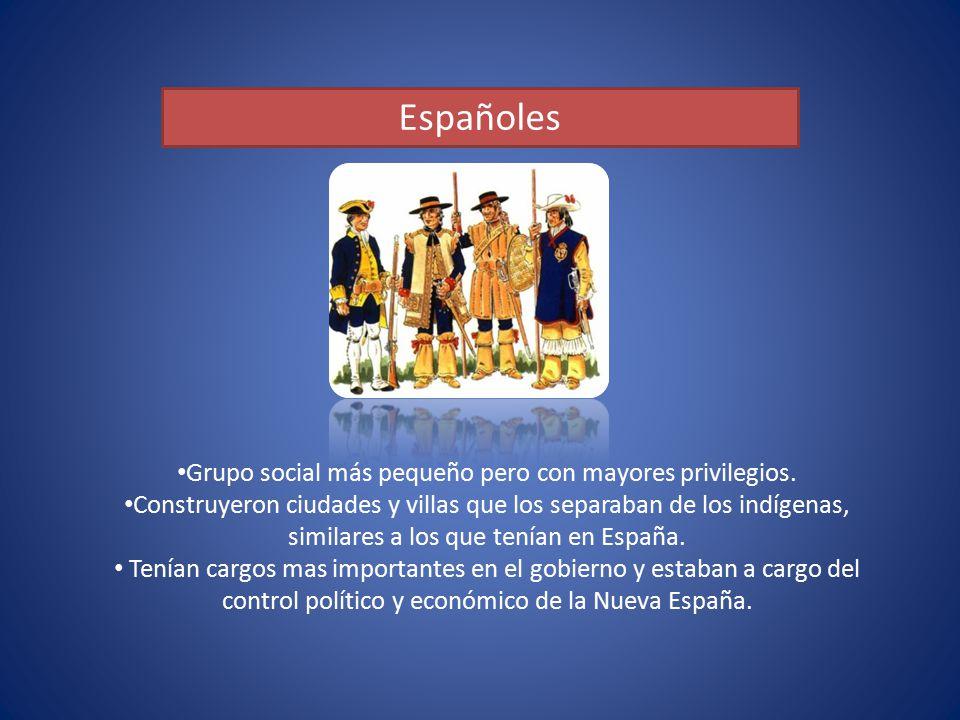 Grupo social más pequeño pero con mayores privilegios.