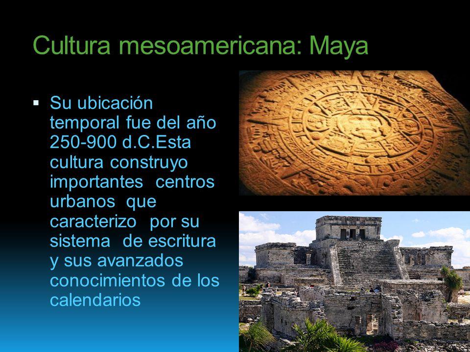 Cultura mesoamericana maya ppt video online descargar for Cultura maya ubicacion