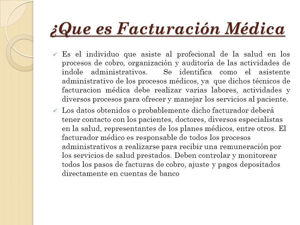 Bonito Facturación Médica Gratuita Bandera - Anatomía de Las ...