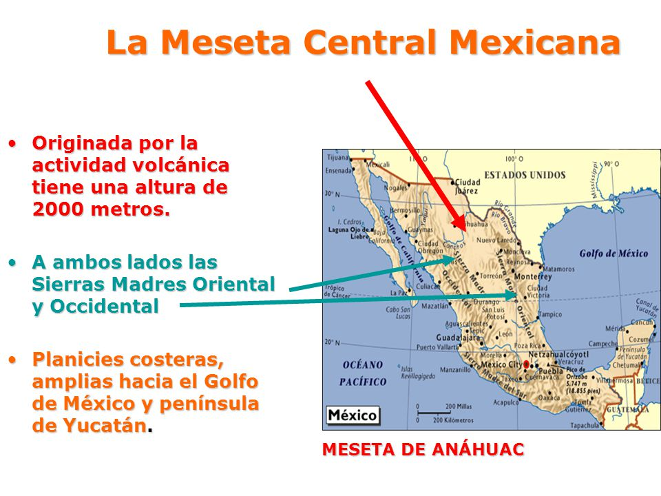 La Meseta Central Mexicana