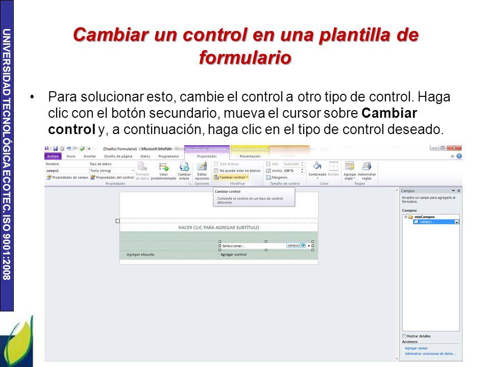 Unidad 2: Tareas básicas de InfoPath ppt descargar