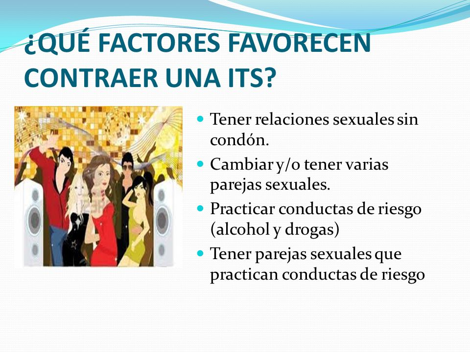 ¿QUÉ FACTORES FAVORECEN CONTRAER UNA ITS