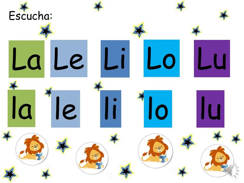 Escucha: La Le Li Lo Lu la le li lo lu