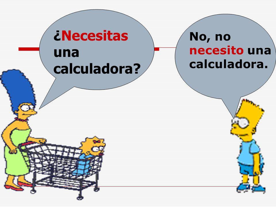 ¿Necesitas una calculadora