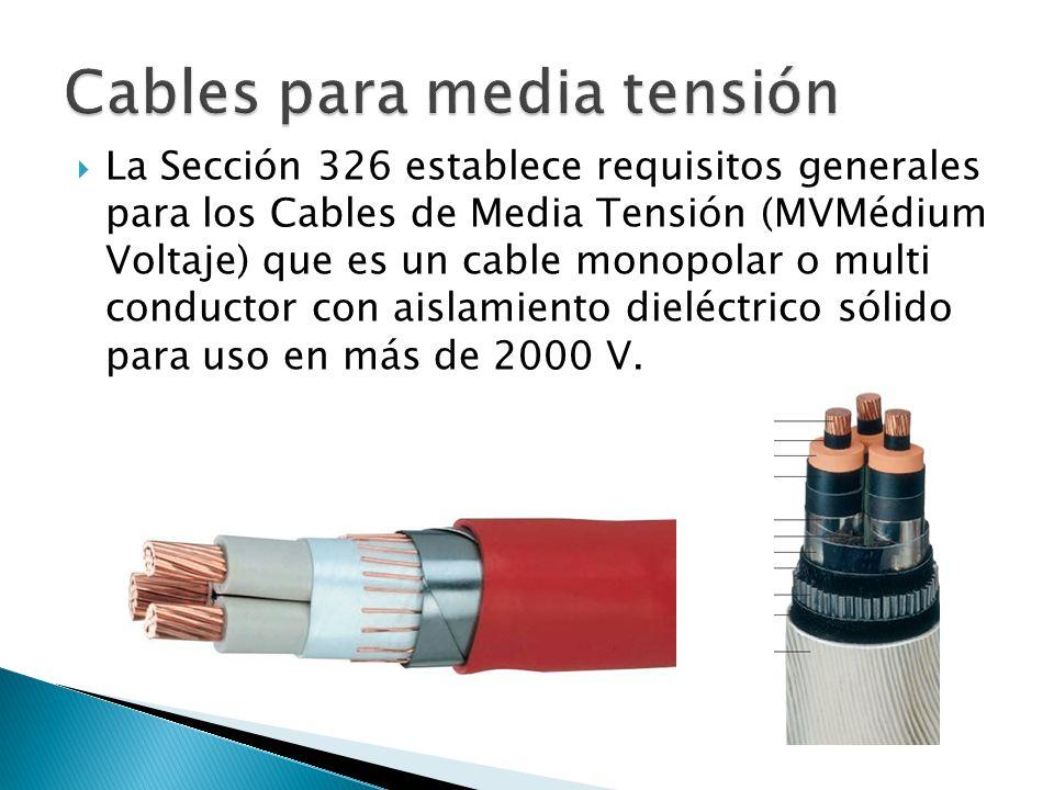 Cables para media tensión