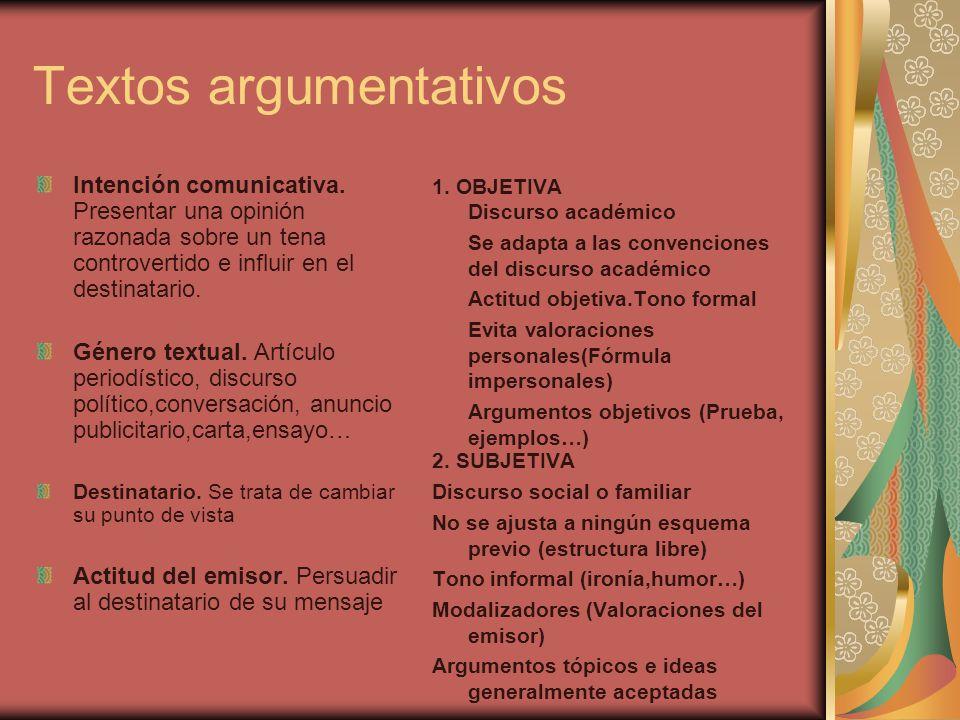 Textos argumentativos ppt descargar for Que es un articulo cultural o de espectaculos