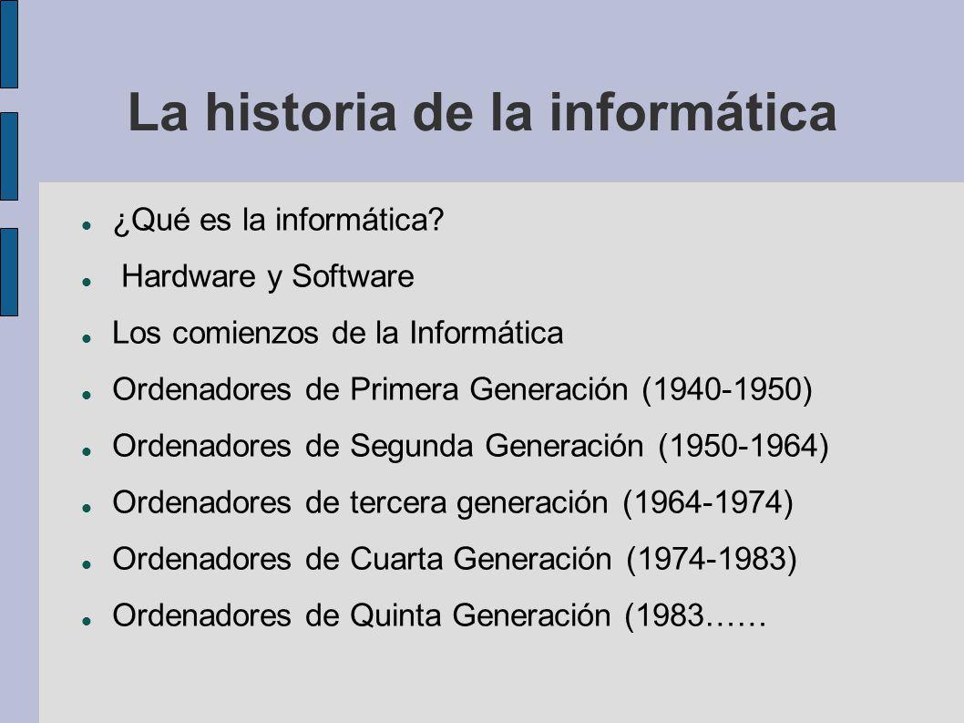 La historia de la informática - ppt video online descargar - photo#44