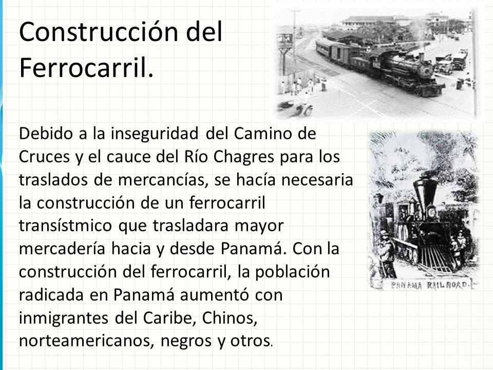 Construcción del Ferrocarril.