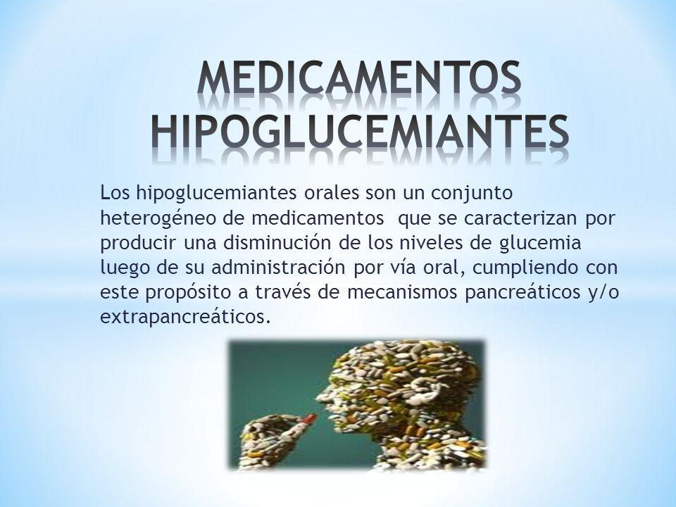 MEDICAMENTOS HIPOGLUCEMIANTES - ppt descargar