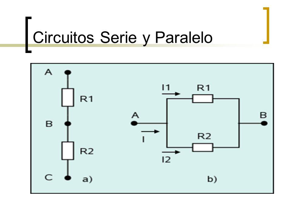 Circuitos Serie y Paralelo