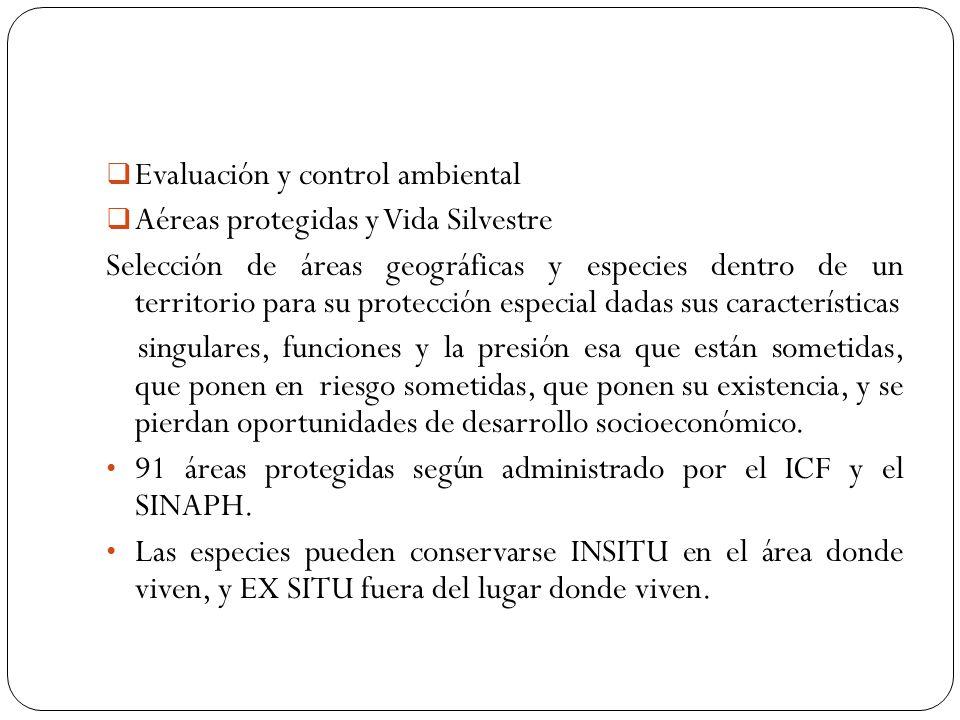 Evaluación y control ambiental