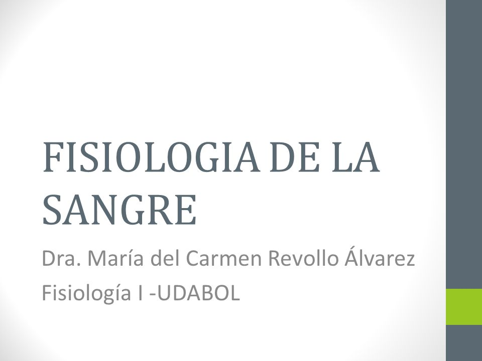 FISIOLOGIA DE LA SANGRE - ppt video online descargar