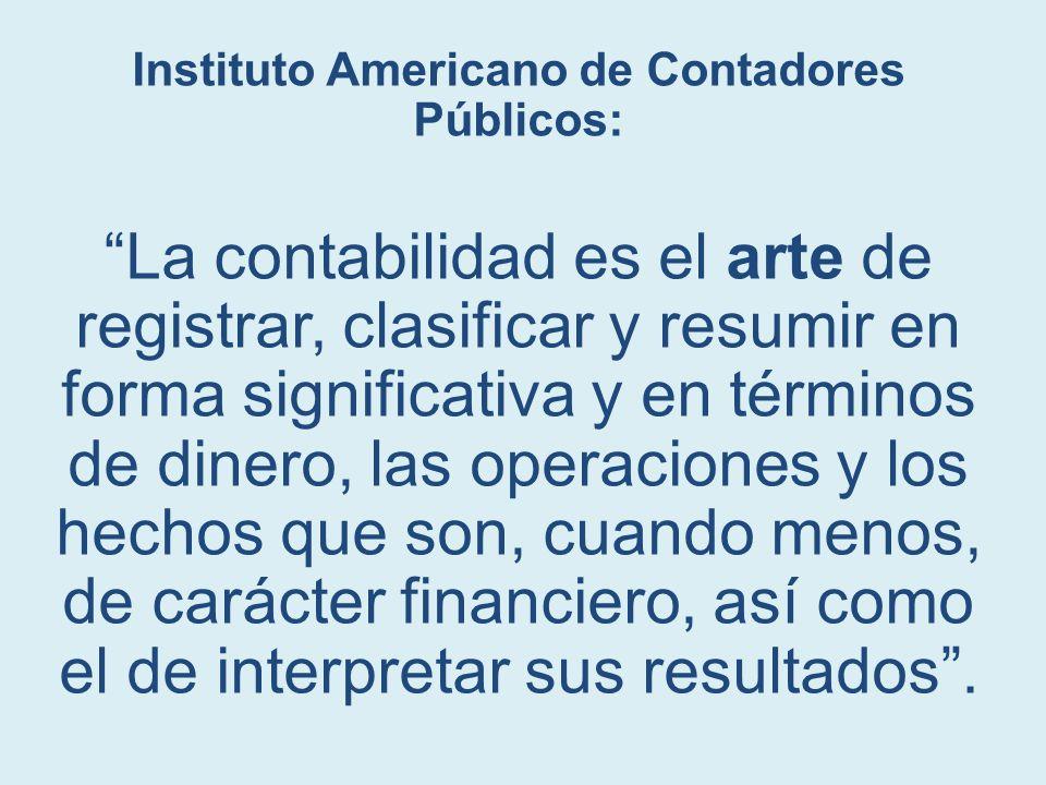 Instituto Americano de Contadores Públicos: