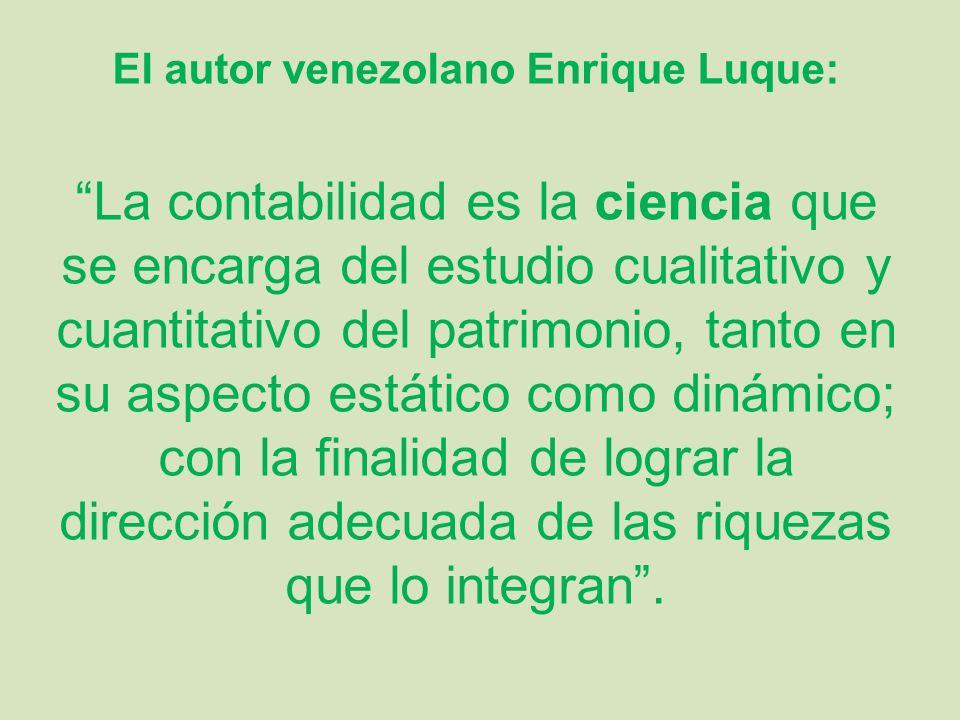 El autor venezolano Enrique Luque:
