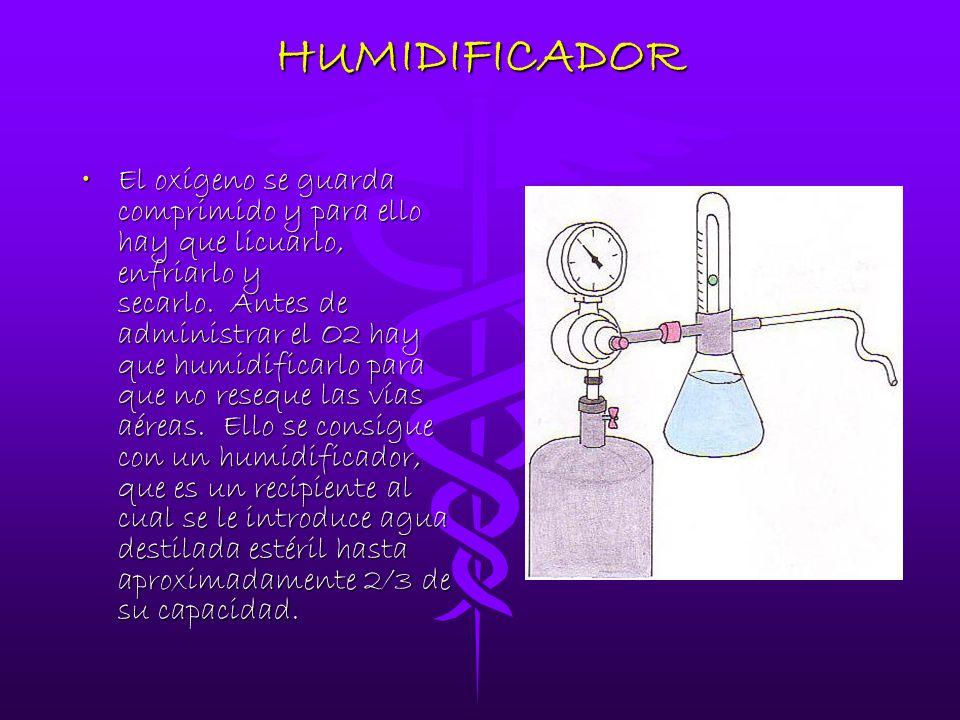 Oxigenoterapia y nebulizacion ppt descargar - Humidificador que es ...