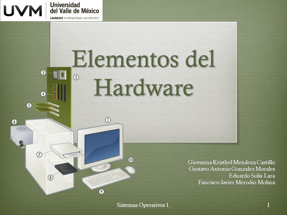 Elementos del hardware ppt descargar for Elementos de hardware