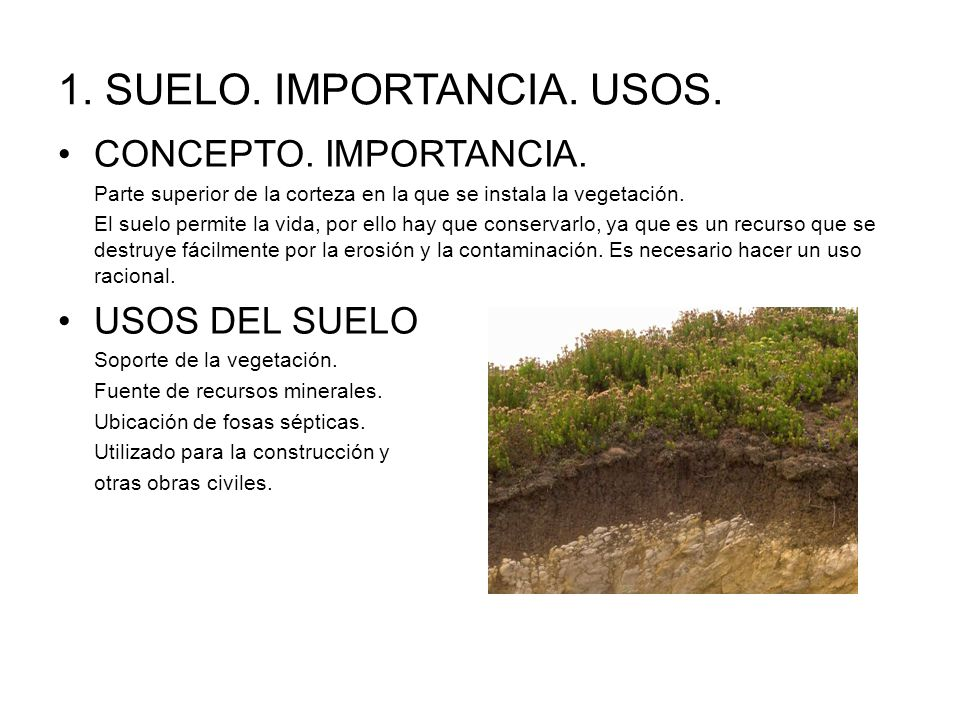 Recursos de la biosfera ppt video online descargar for Importancia de los suelos