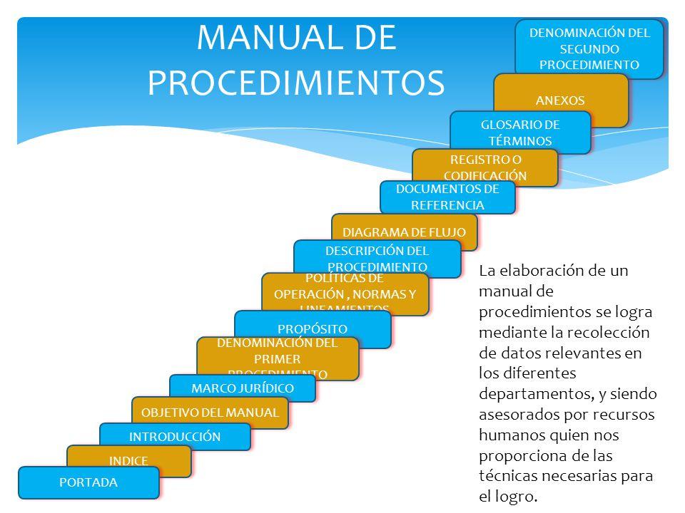 ESTRUCTURACIÓN DEL MANUAL DE PROCEDIMIENTOS