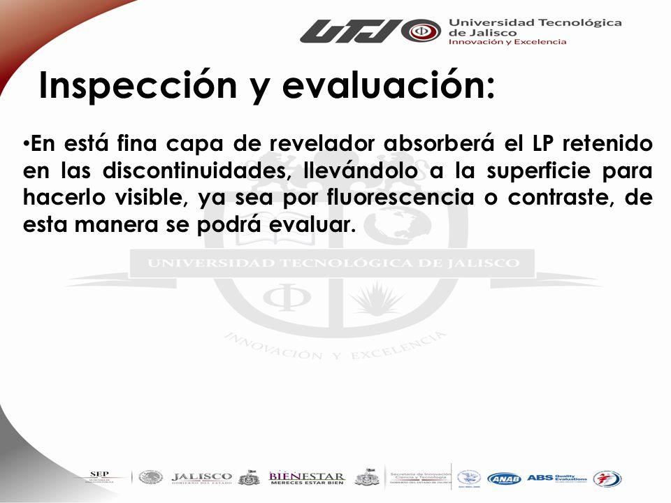 Inspección y evaluación: