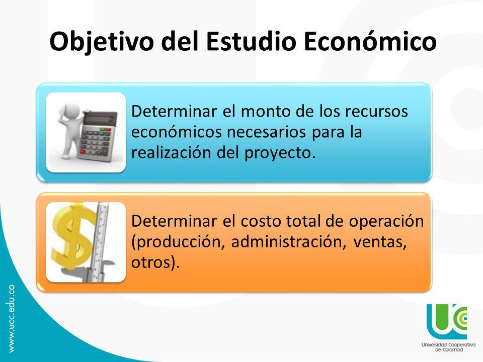 Objetivo del Estudio Económico