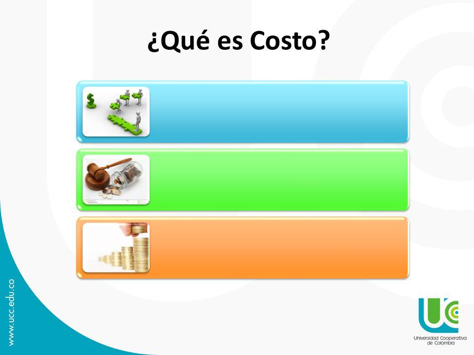 ¿Qué es Costo