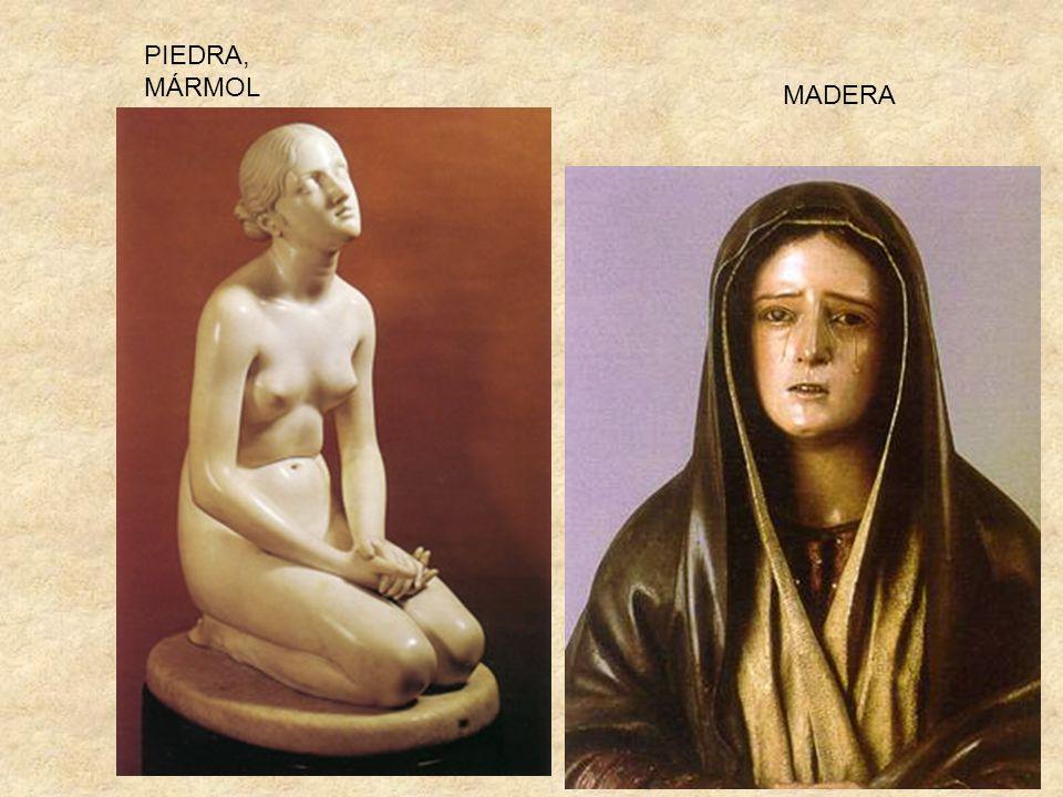 PIEDRA, MÁRMOL MADERA