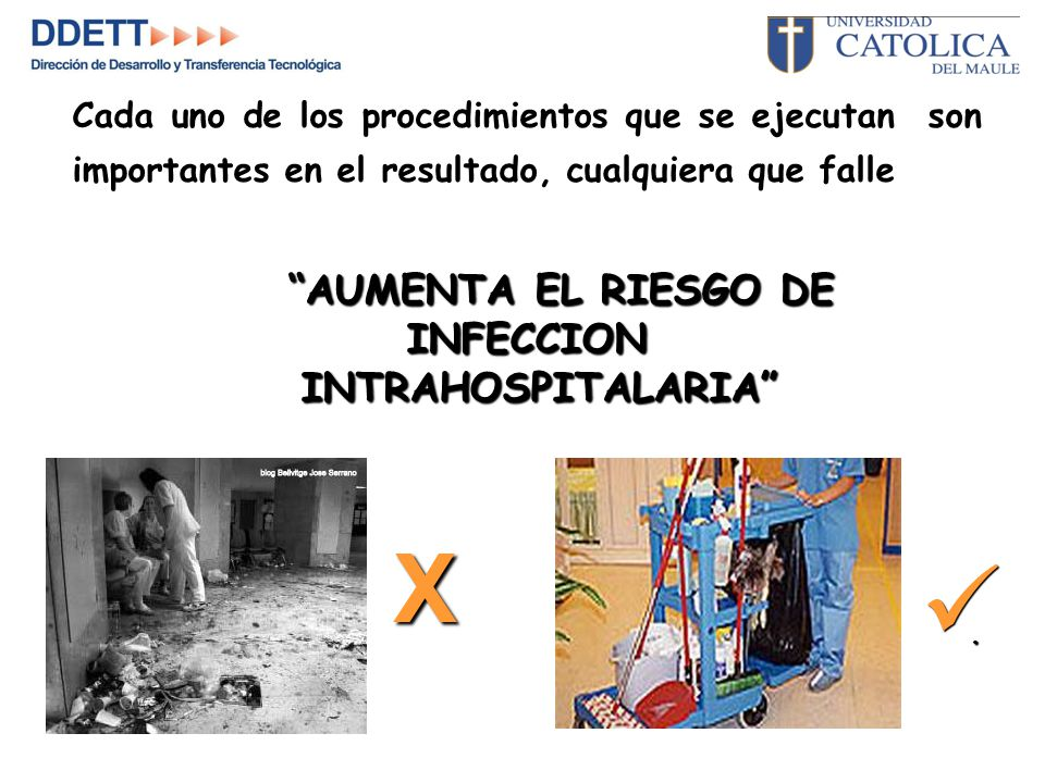 X INFECCION INTRAHOSPITALARIA