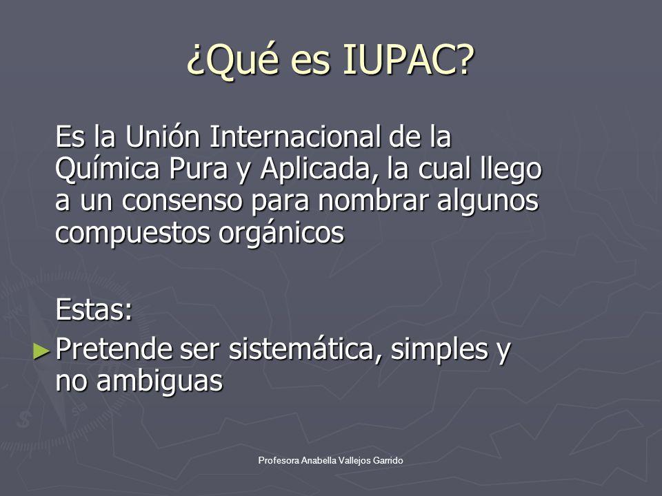 Nomenclatura iupac alcanos ppt descargar for Que significa molecula