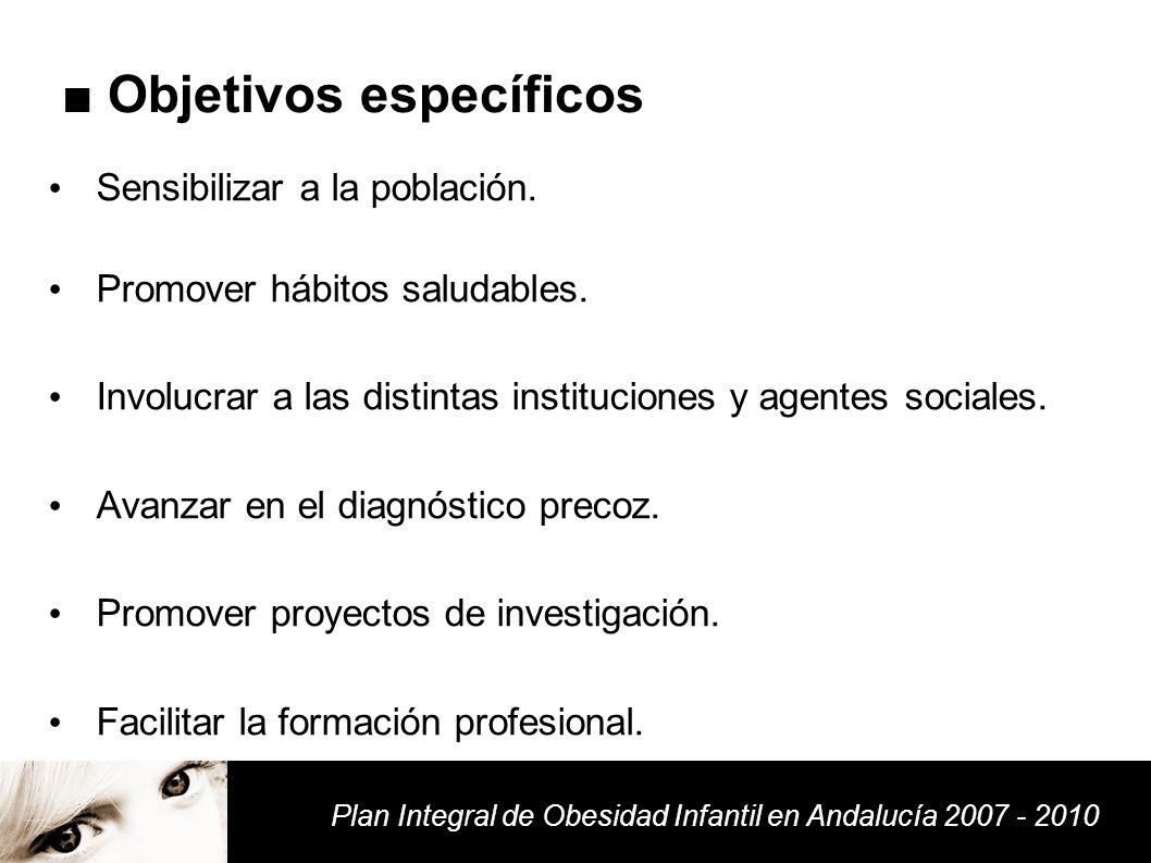 Plan Integral de Obesidad Infantil en Andalucía - ppt