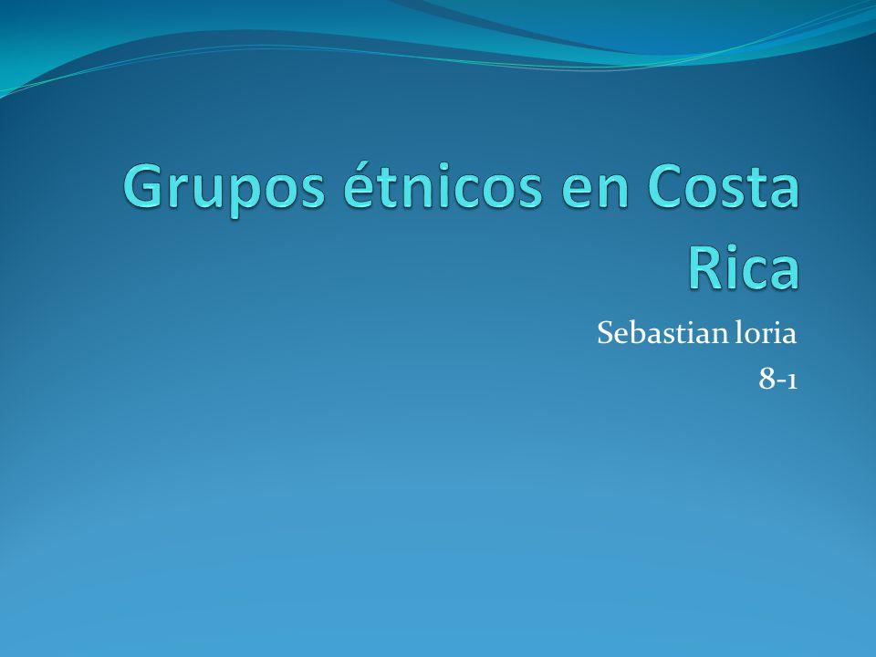 Grupos étnicos en Costa Rica