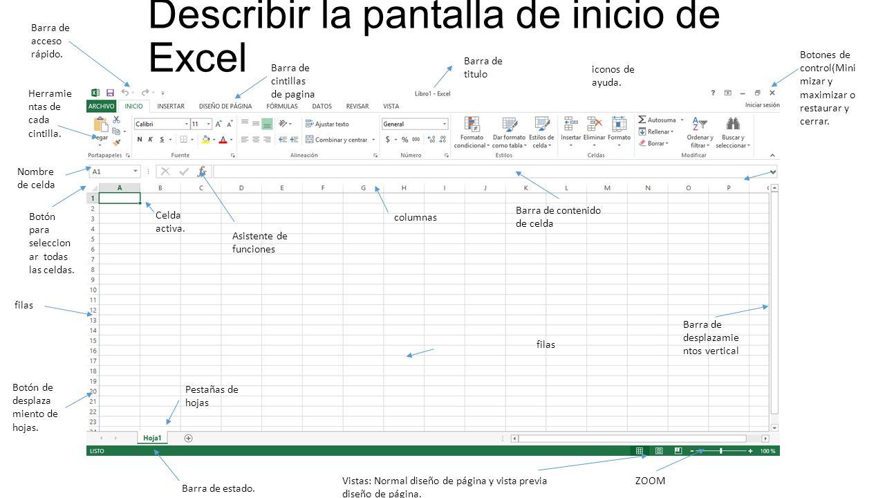 Formas de acceder a Excel 2013 por medio de Windows 8