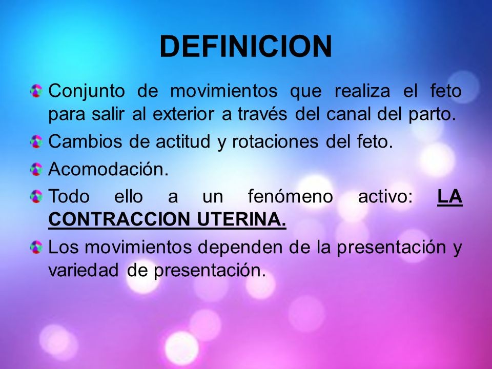 Mecanismo de trabajo del parto ppt video online descargar for Significado de exterior