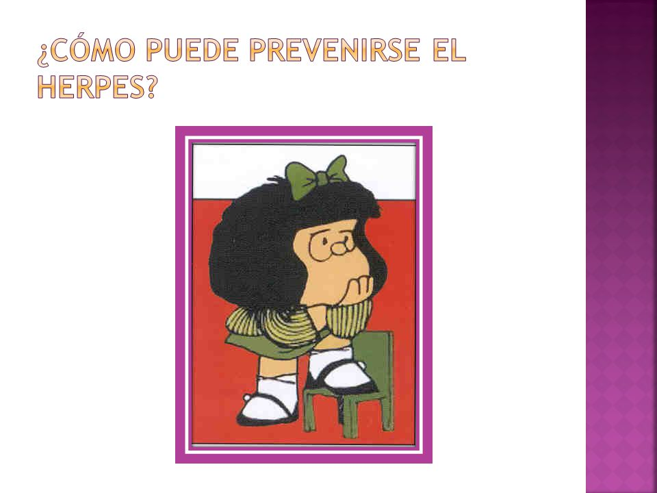 ¿Cómo puede prevenirse el herpes