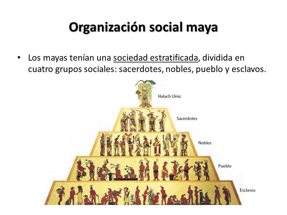 Organización social maya