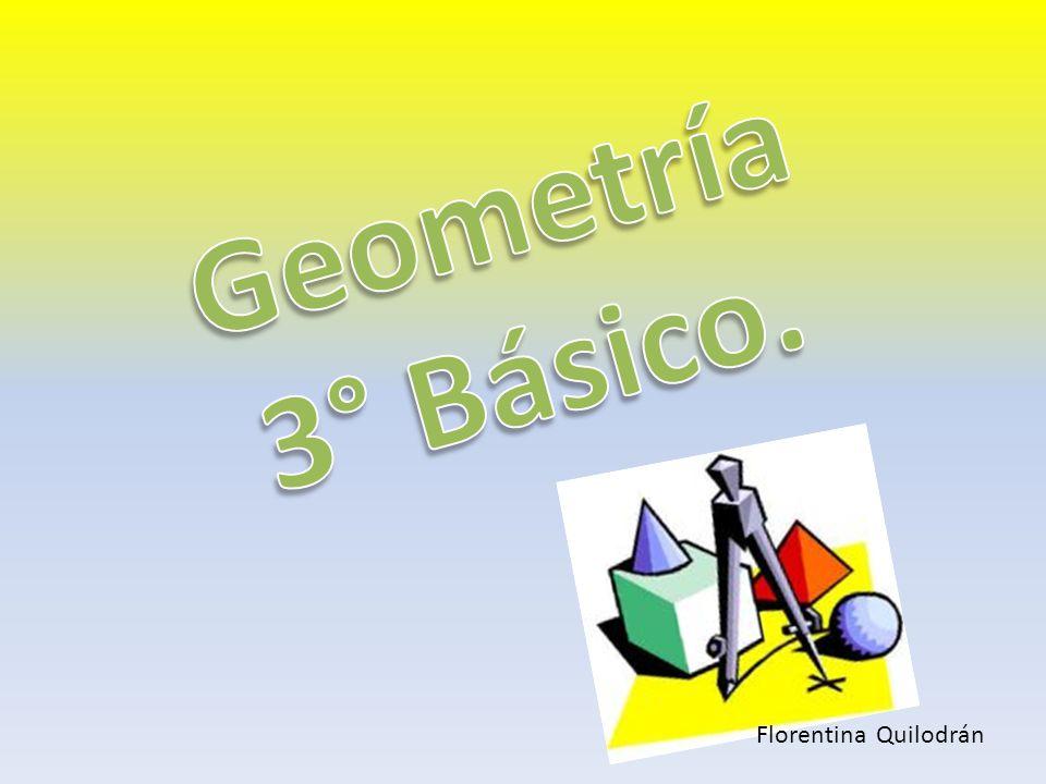 Geometría 3° Básico. Florentina Quilodrán