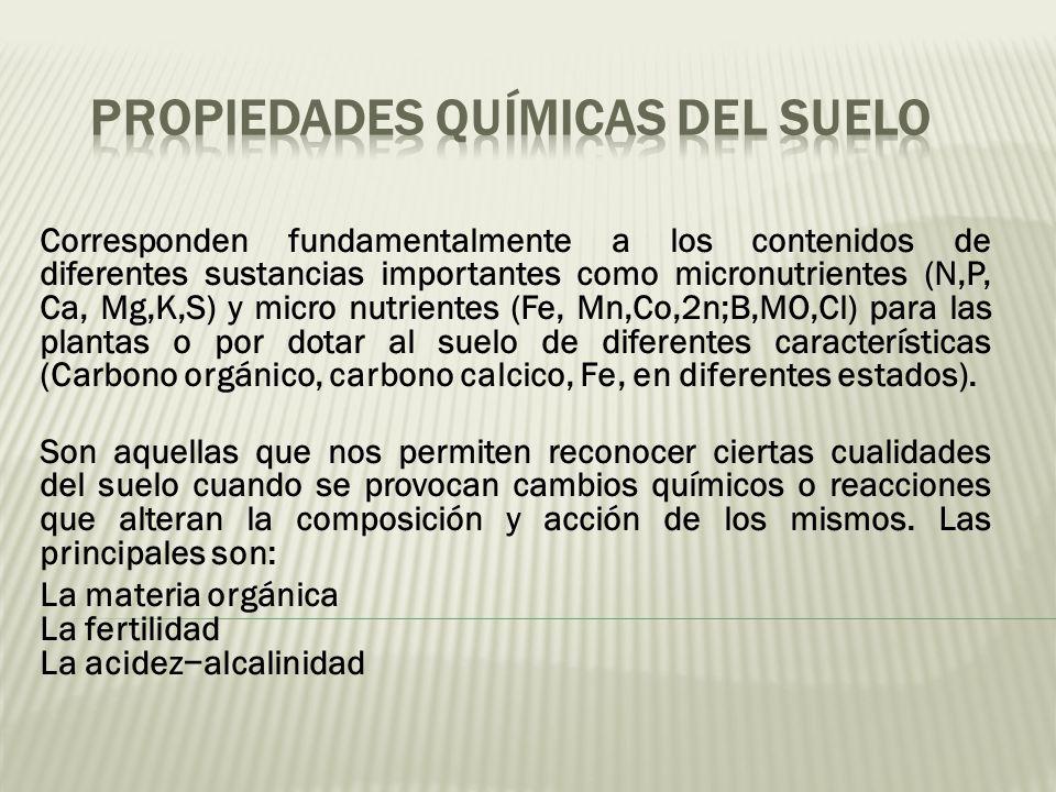 El suelo qu es el suelo ppt descargar for Cuales son las caracteristicas del suelo