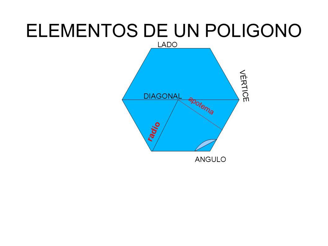 ELEMENTOS DE UN POLIGONO