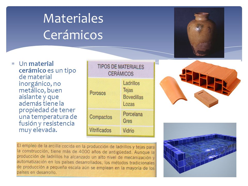 Materiales pl sticos y de construcci n ppt descargar - Tipos de materiales de construccion ...