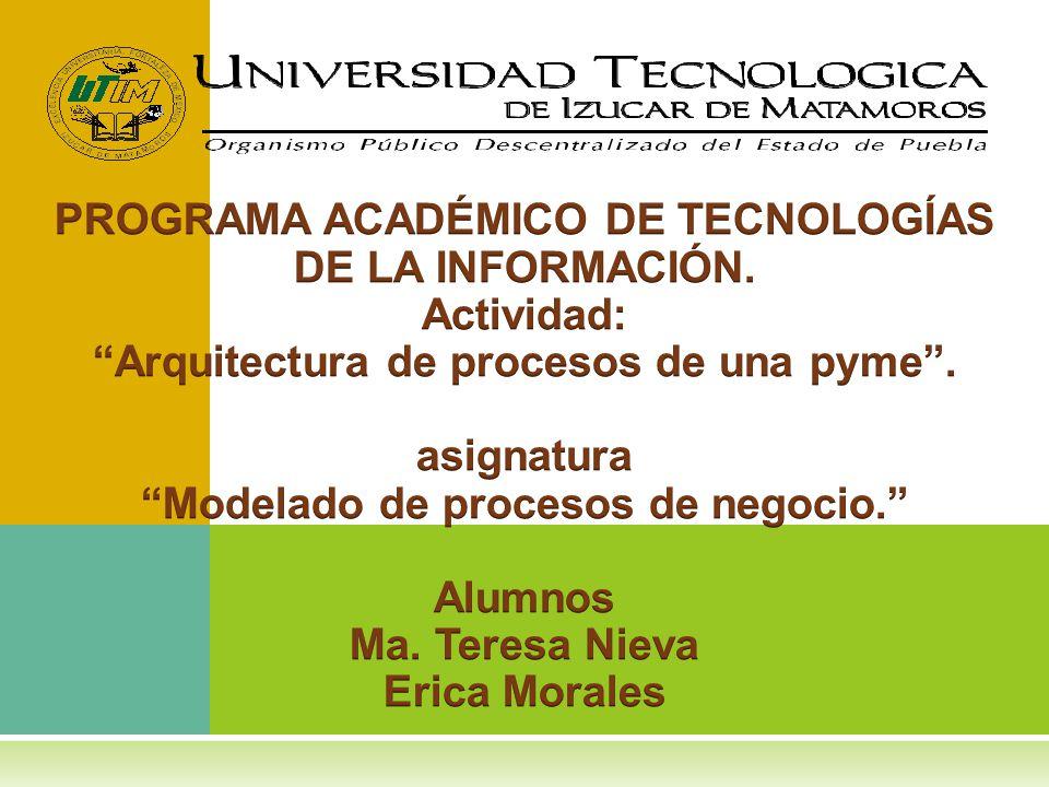 PROGRAMA ACADÉMICO DE TECNOLOGÍAS DE LA INFORMACIÓN. Actividad: