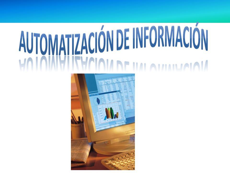 Automatización de información