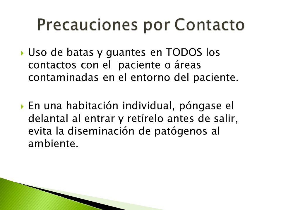 Precauciones por Contacto