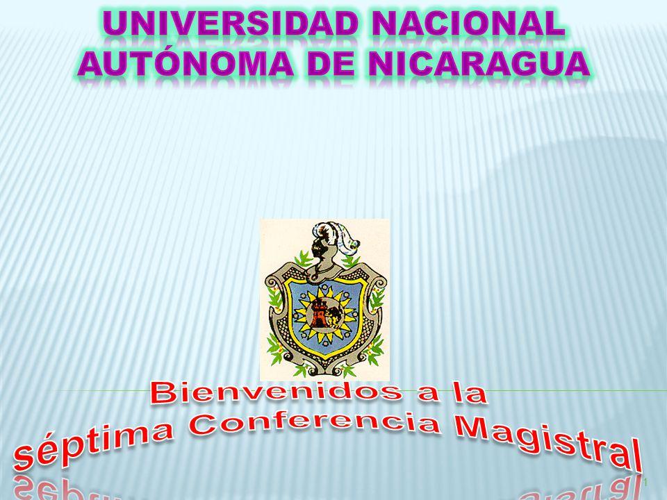 Bienvenidos a la séptima Conferencia Magistral
