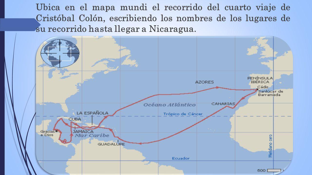 Descubrimiento de nicaragua ppt video online descargar for Cuarto viaje de colon
