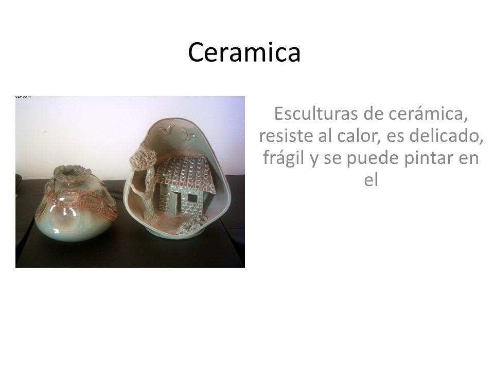 Ceramica esculturas de cer mica resiste al calor es - Se puede pintar el aluminio ...
