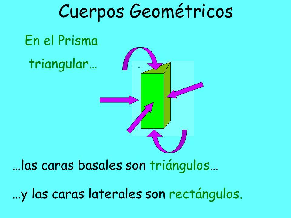Cuerpos Geométricos En el Prisma triangular…